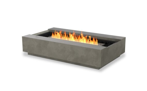 Cosmo 50 Fire Pit - Ethanol - Black / Natural by EcoSmart Fire