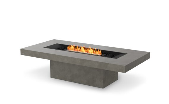 Gin 90 (Chat) Fire Pit - Ethanol - Black / Natural by EcoSmart Fire