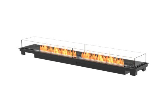 Linear 90 Fireplace Insert - Ethanol - Black / Black / Indoor Safety Tray by EcoSmart Fire