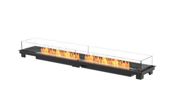 Linear 90 Fireplace Insert - Ethanol - Black / Black by EcoSmart Fire