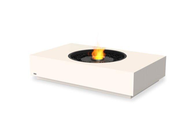 Martini 50 Fire Pit - Ethanol - Black / Bone by EcoSmart Fire